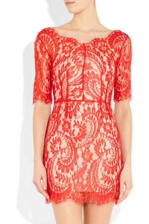 Lace Dress on Net A Porter Intl Lover Christina Lace Dress Intl Shipping